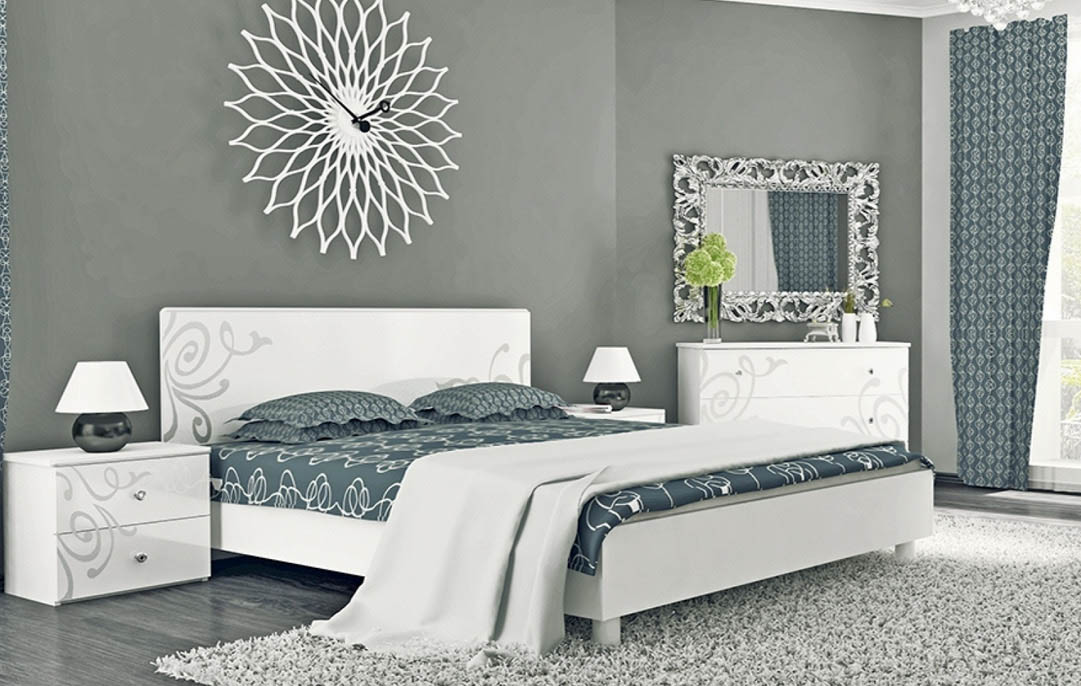 Спальня «Богема Белый глянец»