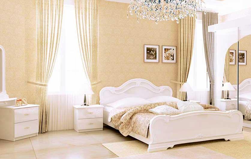Спальня «Футура Глянец Белый»