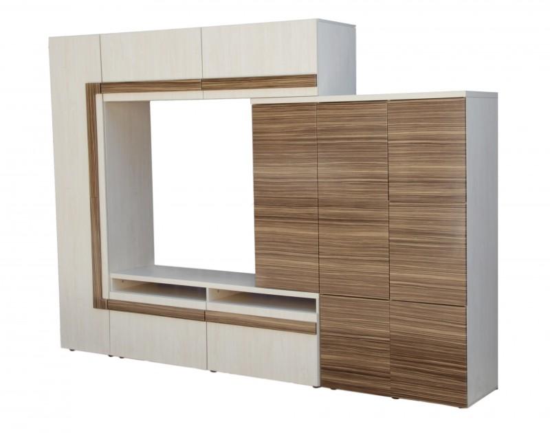 Мебельная стенка «Зебрано»