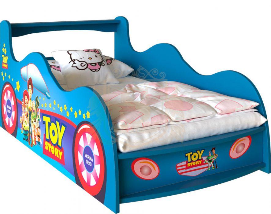 Кровать-машинка «Toy Story» цвет: синий | 80*190