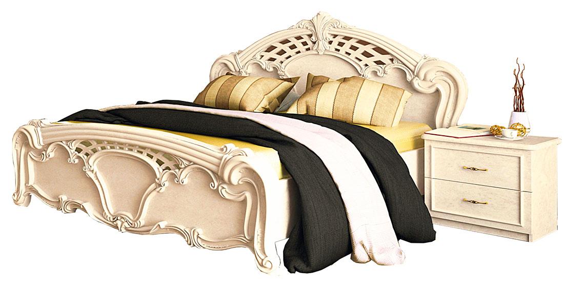 Кровать «Олимпия» без каркаса 1,8 | Радика беж