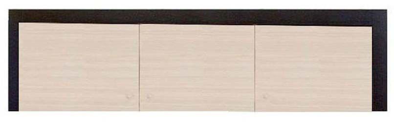 Надставка шкафа 3d «Капри» | Венге светлое