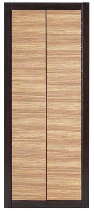 Шкаф 2d «Капри» | Зебрано африканское