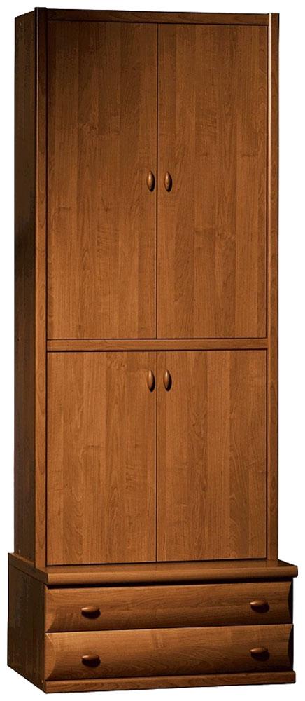 Шкаф для белья с подставкой 90 «Борис» Орех экко