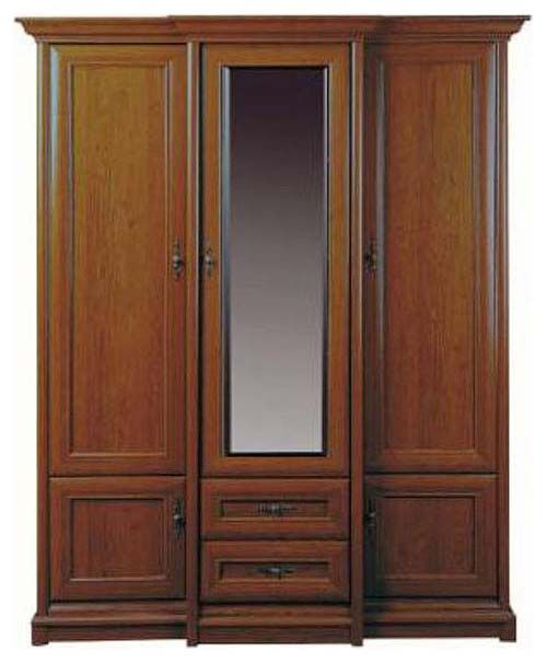 Шкаф 3d/2s «Соната» | Каштан
