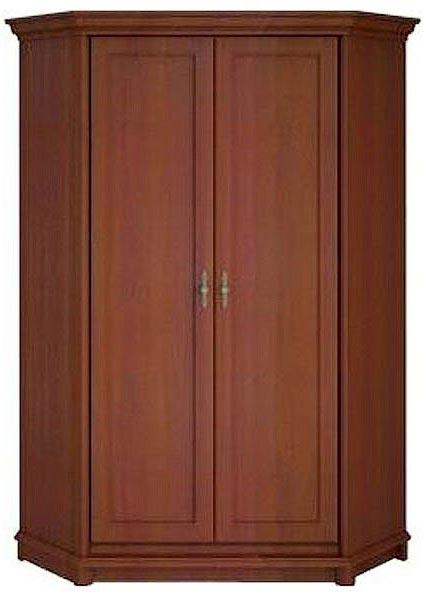 Шкаф угловой 2dnH «Соната» | Каштан