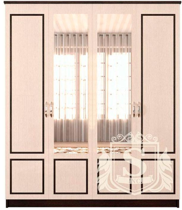 Шкаф «Ким» венге темный | венге светлый