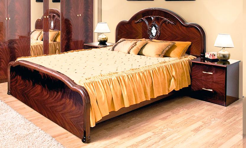 Фото Ліжко - Світ меблів - ДСП - Лаура - 180х200 см - SOFINO.UA
