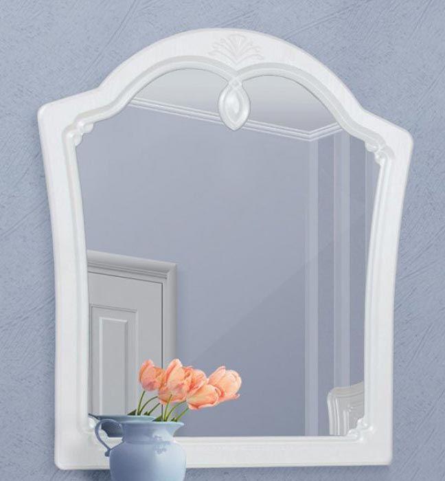 Зеркало «Луиза» белый