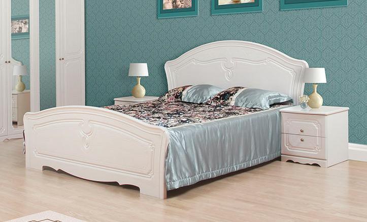 Кровать 160*200 «Луиза» белый