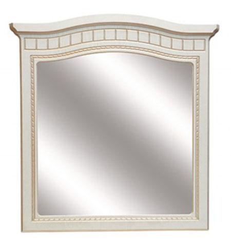 Зеркало «Николь» белое дерево патина
