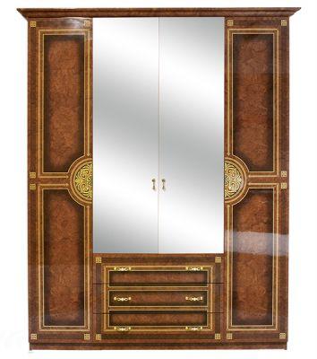 Шкаф 4Д «Диана» пино орех