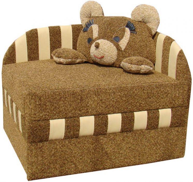 Фото Диван детский «Панда без подушки» Віка Меблі - sofino.ua