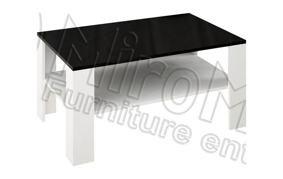 Стол журнальный большой «Виола» 110*70 | Черный мат