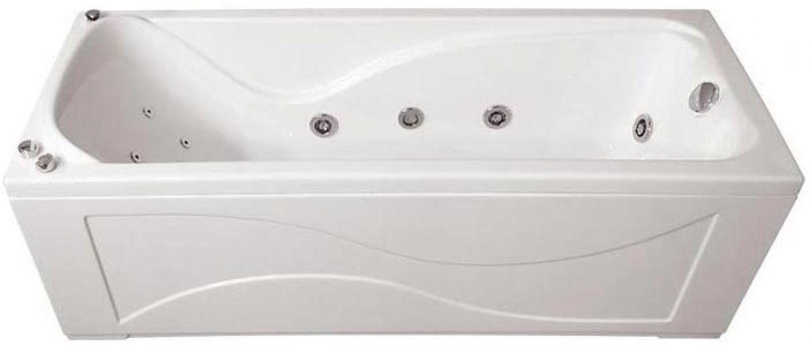 Ванна акриловая «Катрин» без гидромассажа 169*70 ТР