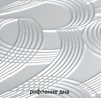 Фото Ванна акриловая «Синди» с гидромассажем | 125*125 ТР Triton - sofino.ua