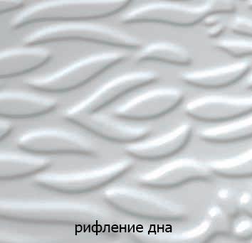 Фото Ванна акриловая «Мишель» с гидромассажем | 170*96 ТР Triton - sofino.ua