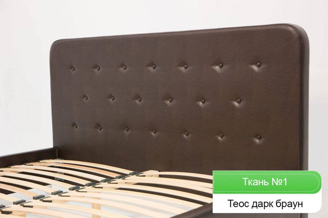 Фото Кровать двуспальная «Лоретта» 140*200 Zenit - sofino.ua