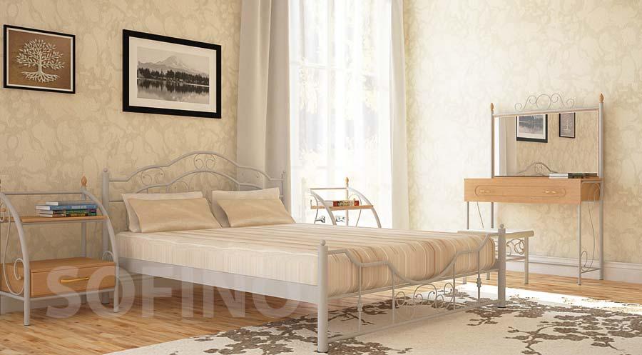 Фото Кровать «Кармен» 140*190 Металл - Дизайн - sofino.ua