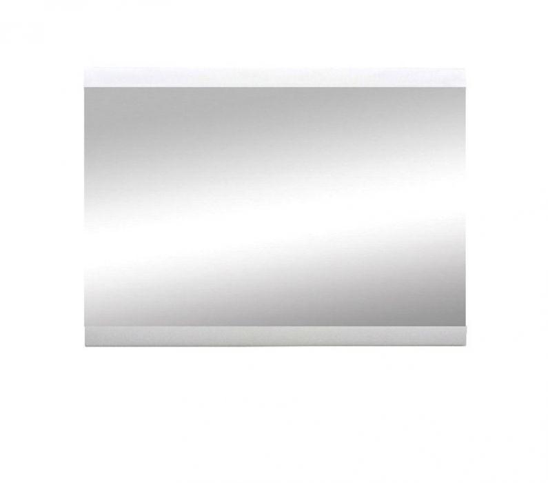 Зеркало LUS «Ацтека» | Нимфея Альба | Белый глянец