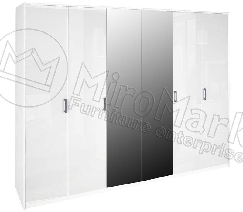 Шкаф 6д «Рома» с зеркалом