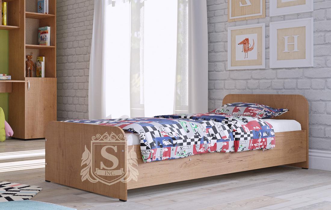 Кровать детская к стенке «Симба» и «Джерри» ДСП