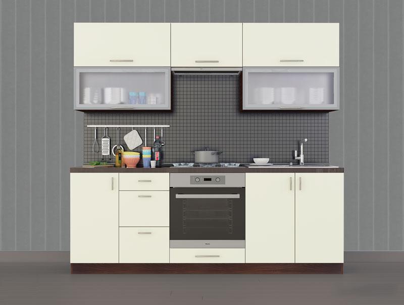 Комплект кухни «Мода-1» 220 | без доводчиков
