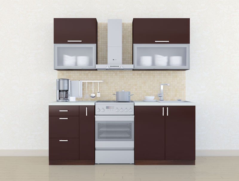 Комплект кухни «Мода-6» 140 | без доводчиков