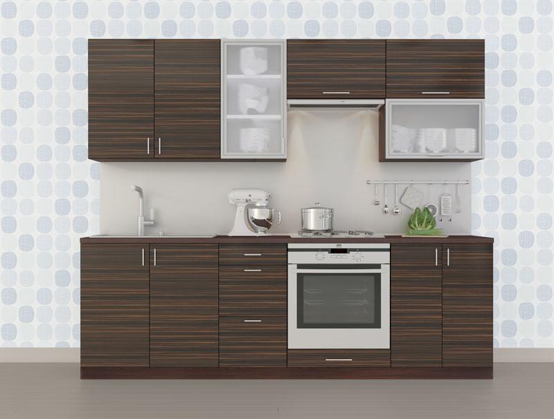 Комплект кухни «Мода-9» 240 | без доводчиков