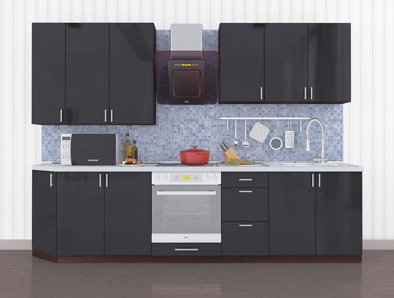 Комплект кухни «Мода-12» 290 | без доводчиков