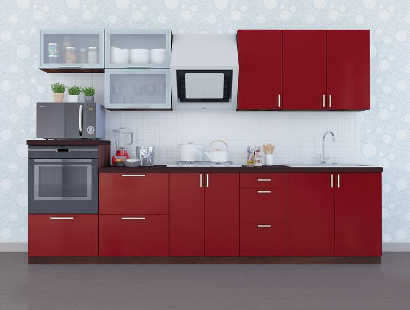 Комплект кухни «Мода-13» 300 | без доводчиков