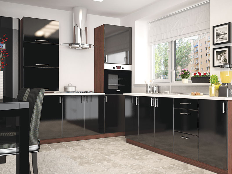 Комплект кухни «Мода-29» 390 | без доводчиков