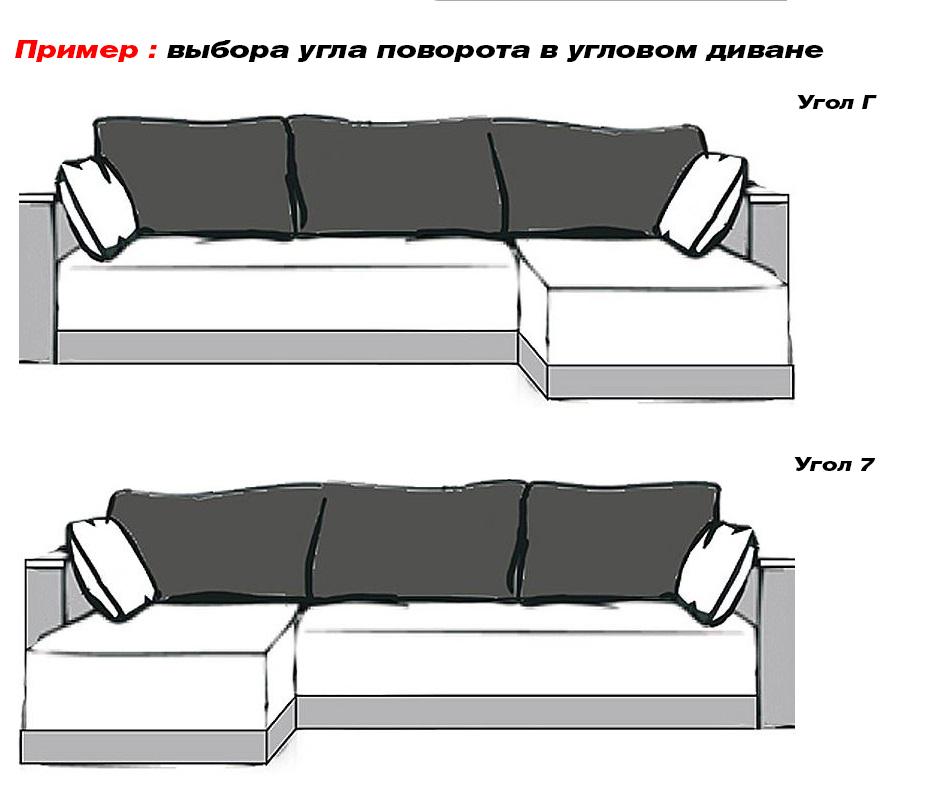 Фото Диван угловой «Диамант» (1 подл.) Аліс Меблі - sofino.ua