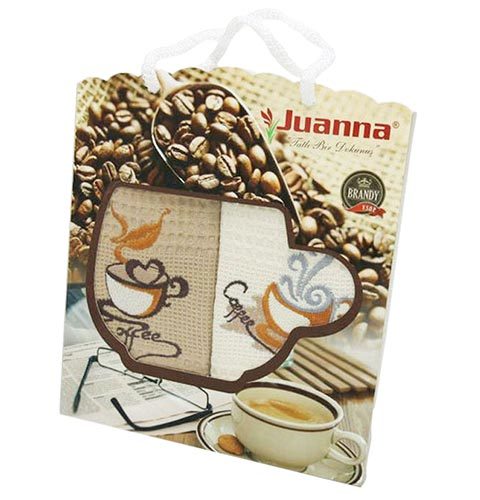 Фото Набор полотенец Juanna Coffee rp1 2х50*70 ОДП - sofino.ua