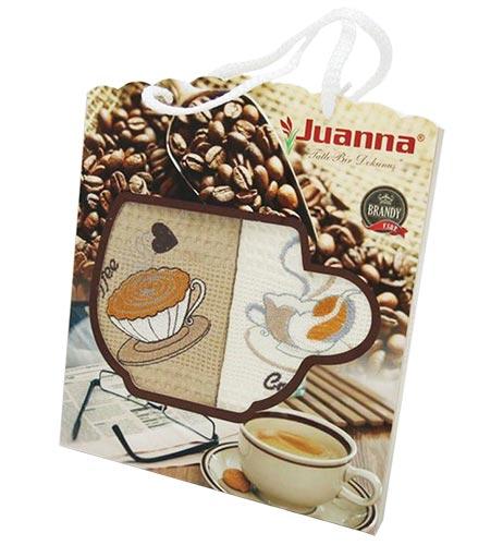 Фото Набор полотенец Juanna Coffee rp2 2х50*70 ОДП - sofino.ua