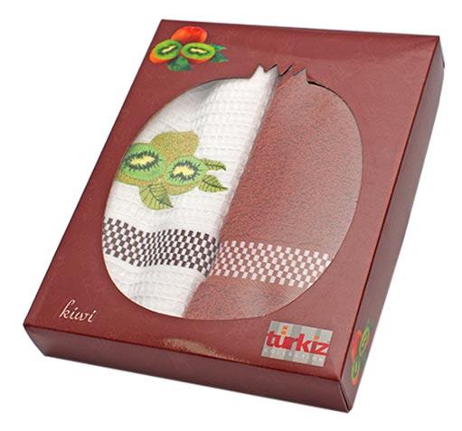 Фото Набор полотенец Turkiz фрукты в коробке 2х50*70 ОДП - sofino.ua