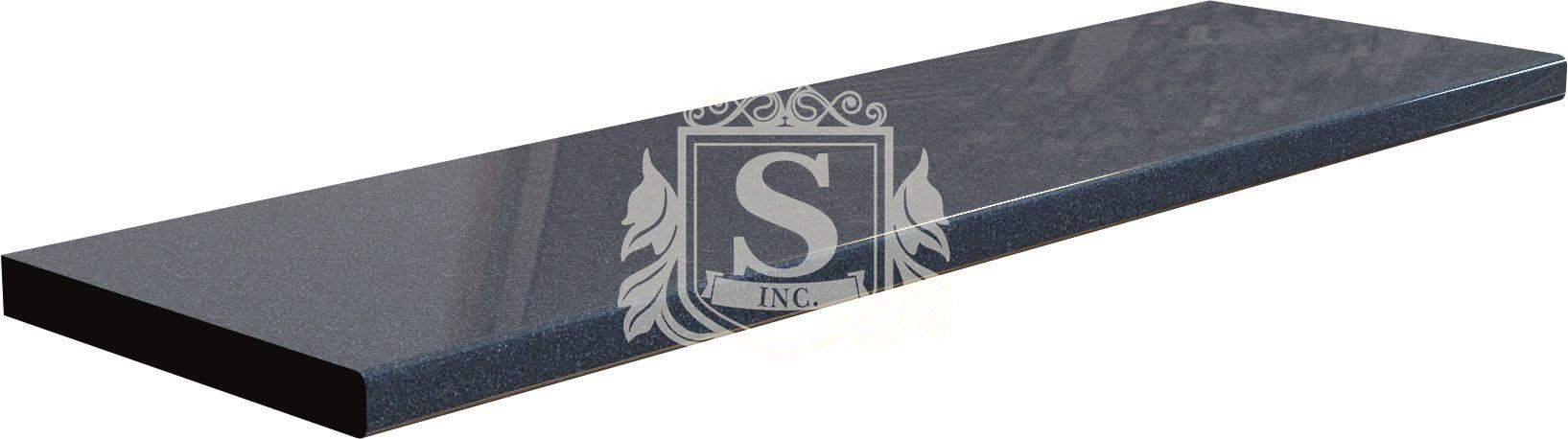 Столешница «Керамика черная» 1 м.п (28 мм)