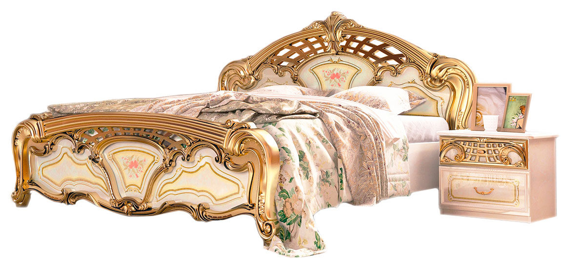 Кровать «Реджина голд» без каркаса 1,8