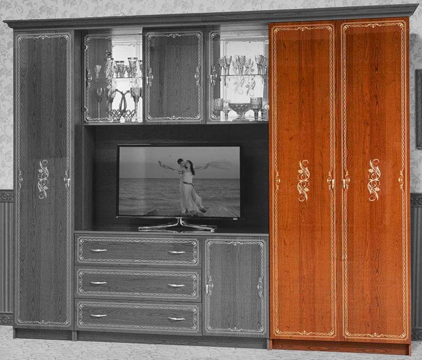 Фото Версаль Шкаф - 1 Каштан Розпродажна позиція - SOFINO.UA