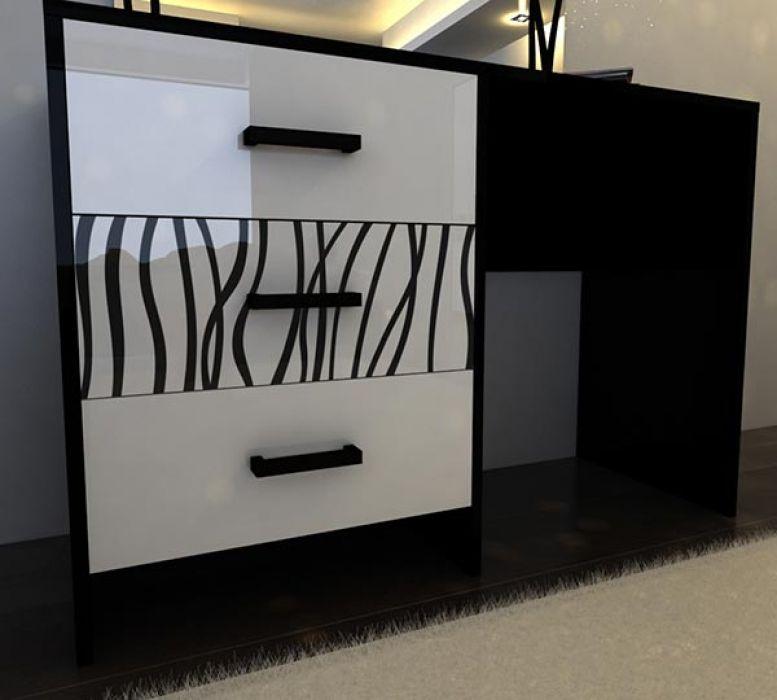 Фото Туалетный столик 3ш «Терра Софт» MiroMark - sofino.ua