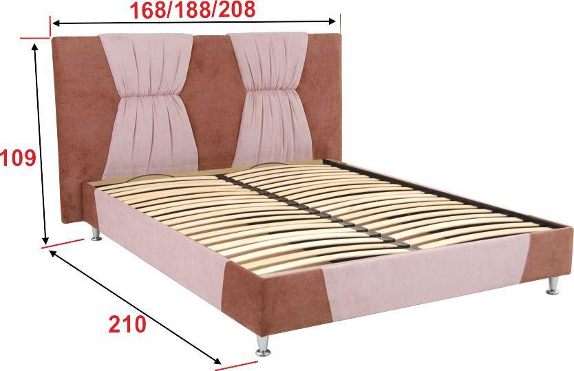 Фото Кровать-подиум с ортопедическим основанием «Танго» 140*200 Аліс Меблі - sofino.ua