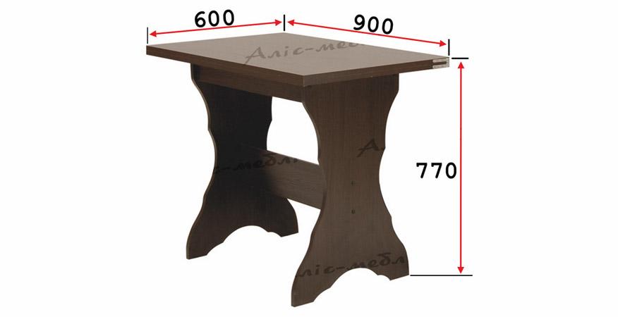 Фото Кухонный комплект «Аврора стол глухой» Аліс Меблі - sofino.ua