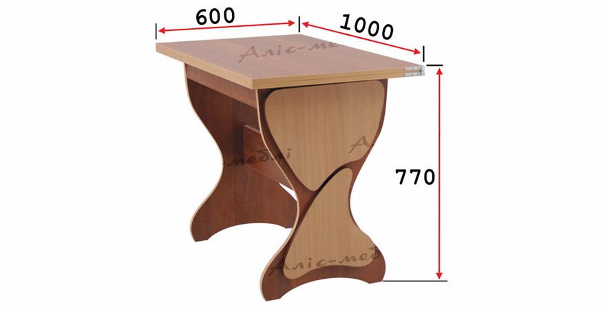 Фото Кухонный комплект «Уран стол глухой» Аліс Меблі - sofino.ua