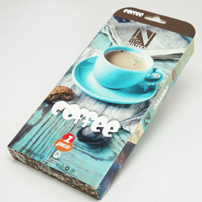 Фото Полотенце Nilteks Coffee 1х45*65 ОДП - sofino.ua