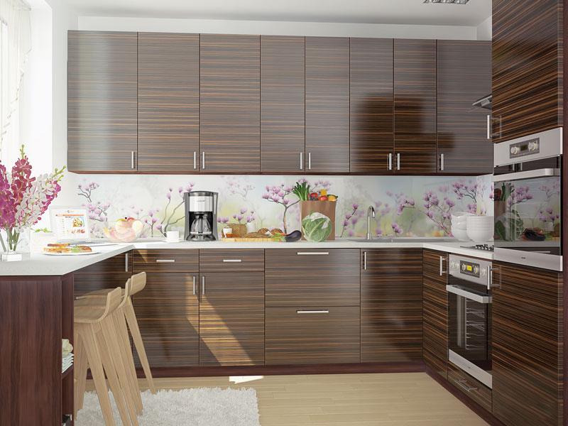 Комплект угловой кухни «Мода-11» 270 | без доводчиков