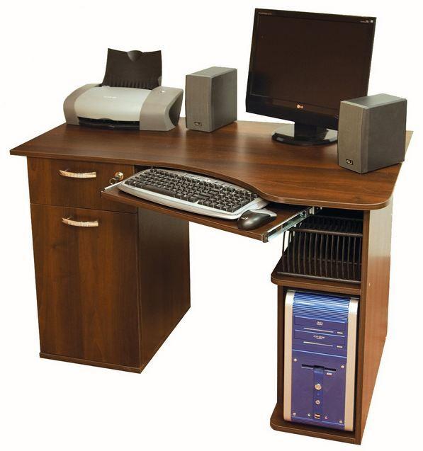 Фото Компьютерный стол «Ника 17» NIKA мебель - sofino.ua