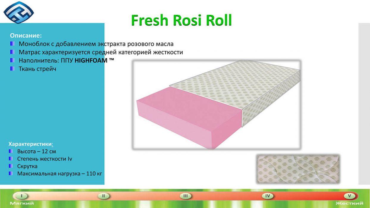 Фото 3 Матрас «Fresh - Rosi Roll» 70*190 Мебель латоны - SOFINO.UA