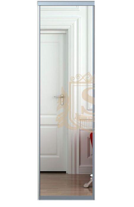 Дверь для шкафа | Зеркало | 590*2200, профиль Alligator