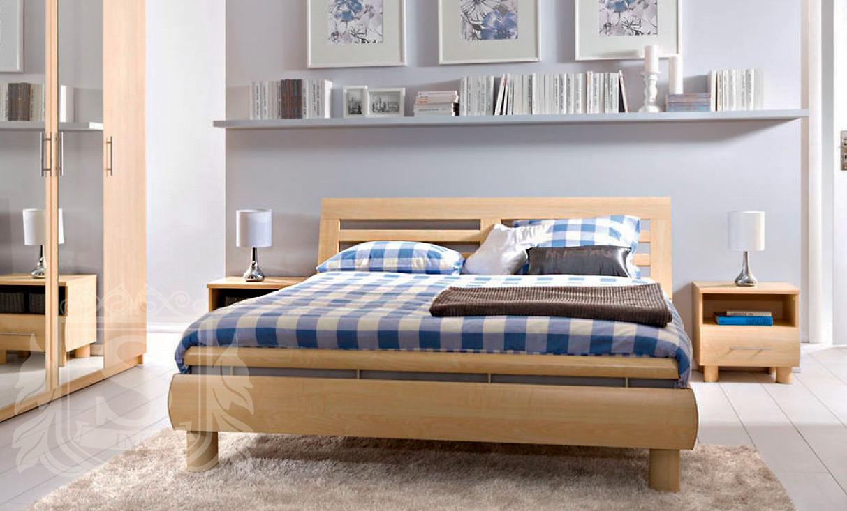 Кровать 160 «Дрим» Клен нида