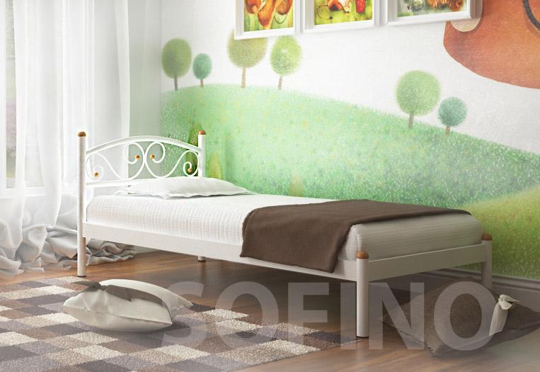 Фото Кровать «Вероника мини» 90*190 Металл - Дизайн - sofino.ua